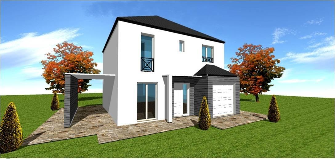 Modeles maisons classiques traditionnelles maisons for Modele maison ile de france