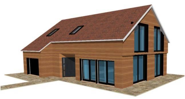 Construction bois maisons qualitis construction de maison haut de gamme sur mesure d for Construction bois 93