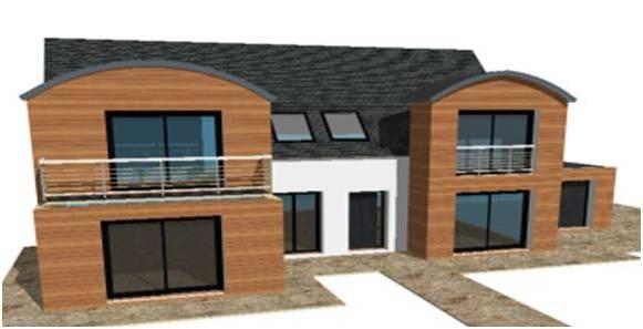 Plan modele maison concept constructeur lofts pilotis for Modele maison loft