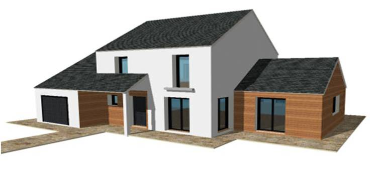 constructeur bois de maisons ossature bois maisons qualitis construction de maison haut de. Black Bedroom Furniture Sets. Home Design Ideas