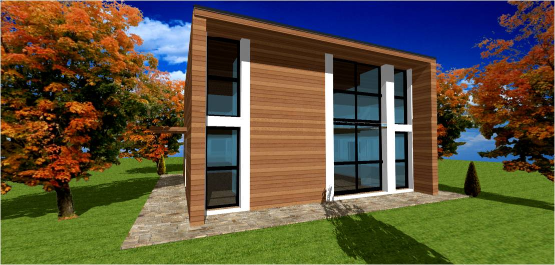 maison moderne toit plat toit terrasse cubiques cubes. Black Bedroom Furniture Sets. Home Design Ideas