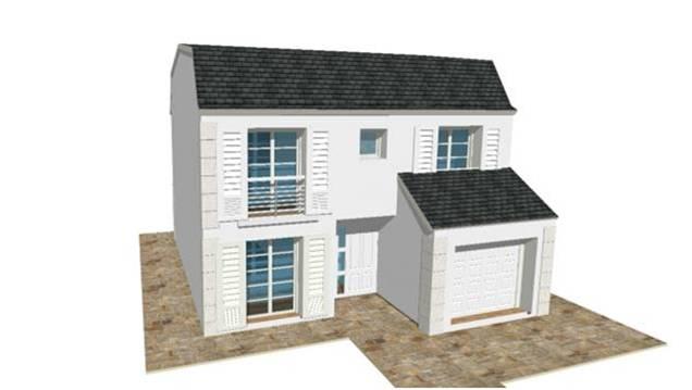 Constructeur maison modele plan photo mansart 4 pentes for Constructeur de maison 92