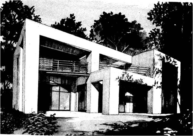 Maison moderne toit plat toit terrasse cubiques cubes for Architecte constructeur