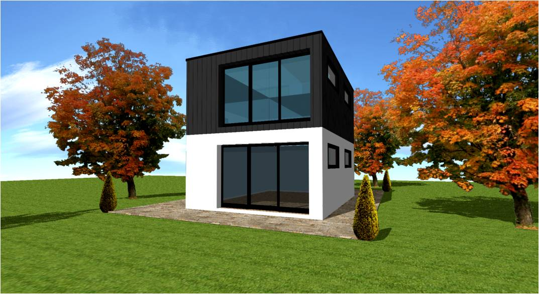 Constructeur maison sur mesure d 39 architecte maisons for Construction de maison container