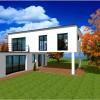 constructeur de maison moderne contemporaine
