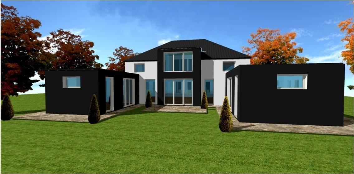 Plan modele maison concept constructeur lofts pilotis for Constructeur maison moderne oise