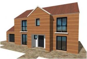 d couvrez nos maisons ossature bois maisons qualitis construction de maison haut de gamme sur. Black Bedroom Furniture Sets. Home Design Ideas