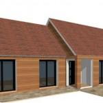 Bois RDC 1 maison ossature bois constructeur architecte