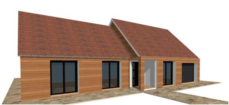 D couvrez nos maisons ossature bois bois rdc 1 maison - Maison ossature bois haut de gamme ...