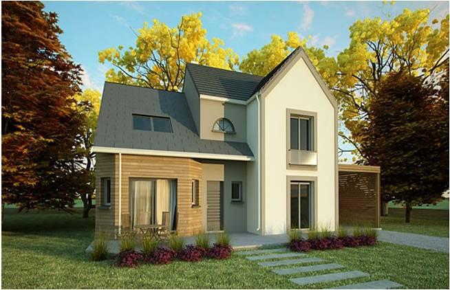 Constructeur de maisons essonne 91 construction architecte for Constructeur maison architecte