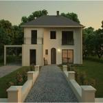 Contemporaine 20 R 1 Maison Moderne Constructeur Architecte