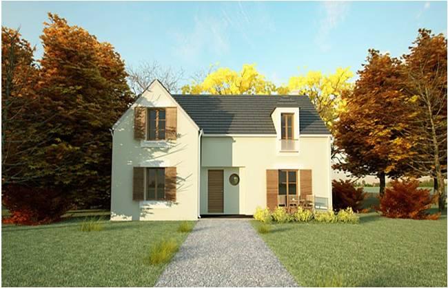 Constructeur maison 95 val d 39 oise construction architecte for Constructeur maison moderne yvelines