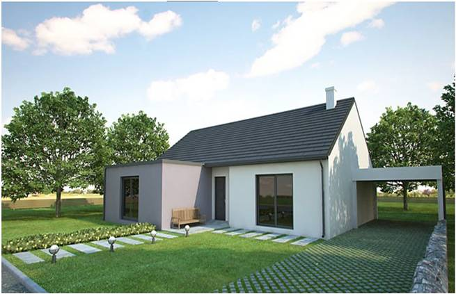 maison moderne 35