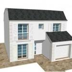 toit toiture Mansart mansard zinc ardoise 4 R1 Moderne Maison Constructeur Architecte