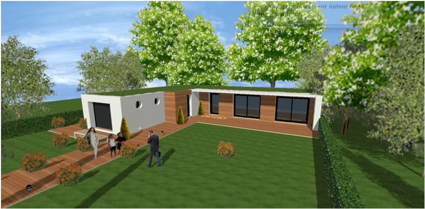 d couvrez nos nouvelles maisons toit terrasse et cubique. Black Bedroom Furniture Sets. Home Design Ideas