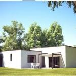 Toit terrasse cube cubique carree 3 RDC Maison Moderne Constructeur Architecte