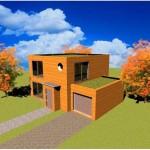 Toit terrasse R 1 3 Maison Constructeur Architecte Cube cubique carree