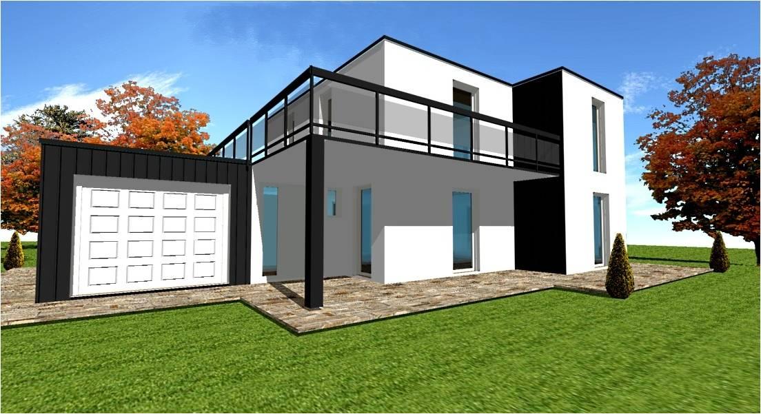 Hmbc maison cubique moderne building a modern house sims for Maison moderne hmbc
