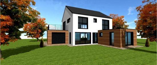 Maison bois et beton segu maison - Maison bois et beton ...