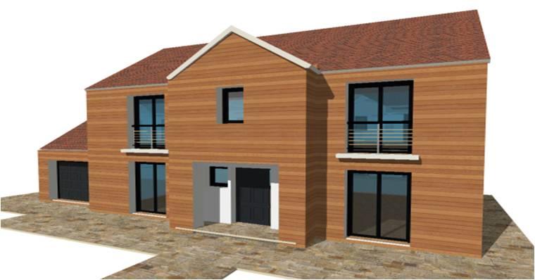 Constructeur maison brique monomur ile france ventana blog for Constructeur ossature bois