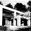 Serie loft ronde demi ronde patio volume pilotis moderne