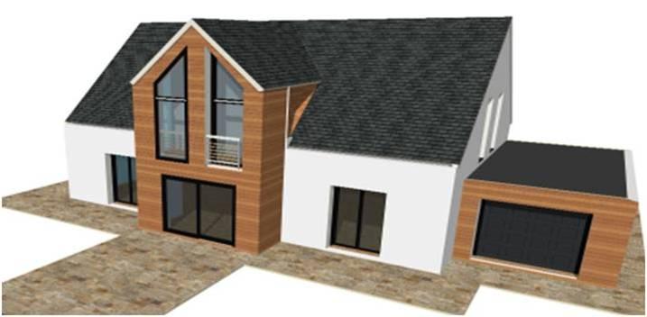 Maison bois maisons qualitis construction de maison haut de gamme sur mesure d architecte en for Construction bois 93