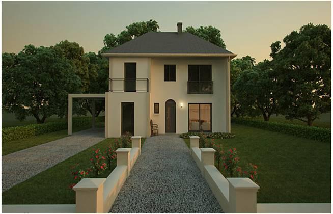 d couvrez nos nouvelles maisons modernes et contemporaines. Black Bedroom Furniture Sets. Home Design Ideas
