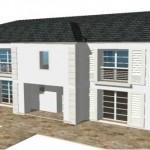 toit toiture Mansart mansard zinc ardoise 4 R1 Moderne Maison Constructeur Architecte 4