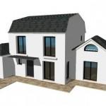 toit toiture Mansart mansard zinc ardoise 4 R1 Moderne Maison Constructeur Architecte 2