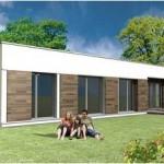 Toit Terrasse cube cubique carree RDC 7 maison constructeur architecte