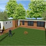 Toit terrasse cube cubique carree 1 maison constructeur architecte